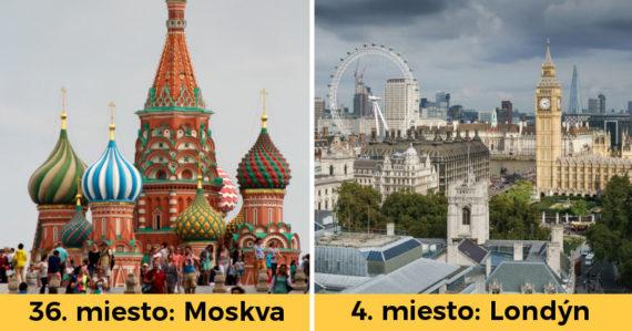 Najlepšie mestá na svete