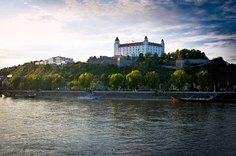 Bratislava, Dunaj a Bratislavský hrad