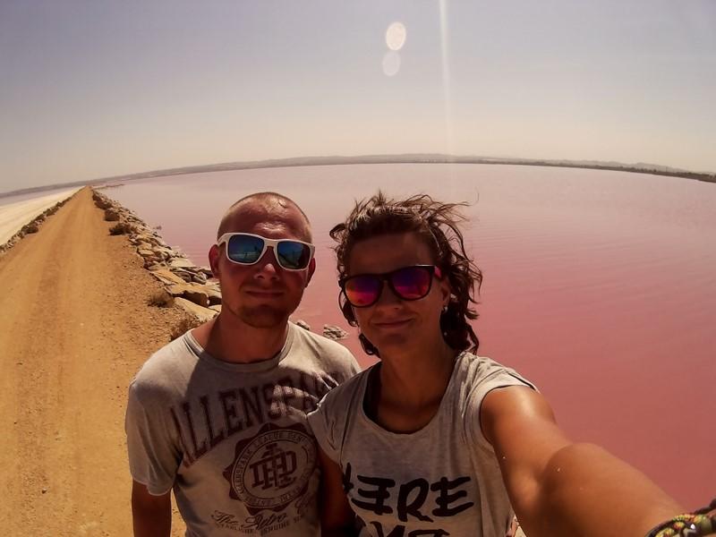 Ružové jazero Torrevieja