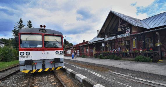 Železničná stanica v Tatranskej Lomnici