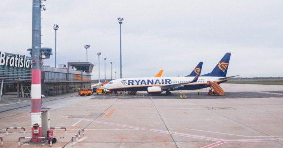 Ryanair, bratislavské letisko