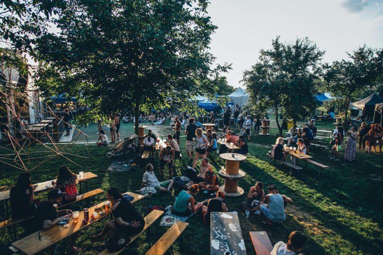Jedinečný areál festivalu FLAAM v nitrianskom Hide Parku