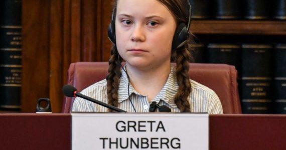 Švédska aktivistka Greta Thunberg
