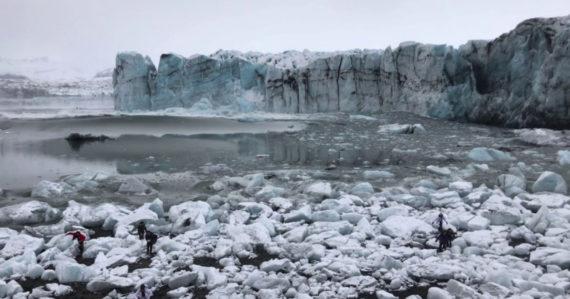 Odtrhnutý ľadovec na Islande spôsobil obrovskú vlnu