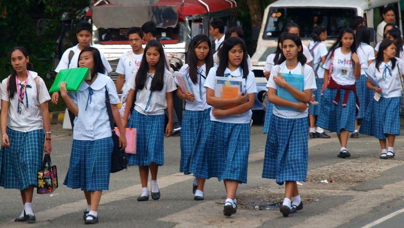 Filipínski študenti