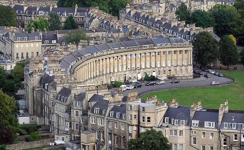 Anglické mestečko Bath
