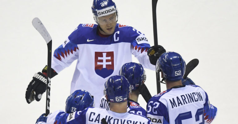83b63a2ed6e8b Slovensko sa rozlúčilo s MS 2019. Zápas s Dánskom rozhodli až nájazdy