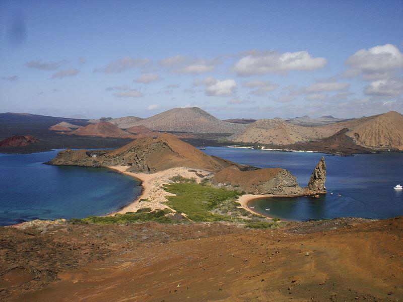 ostrov Bartolomé, Galapágy