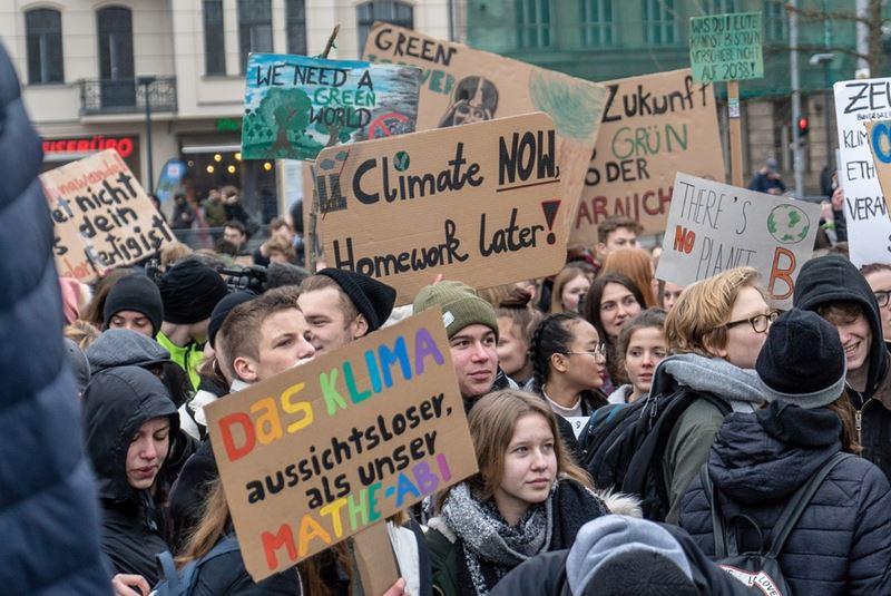 Protest proti zmene klímy