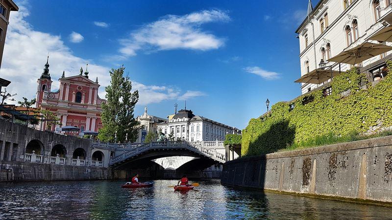 Hlavné mesto Slovinska, Ljubljana