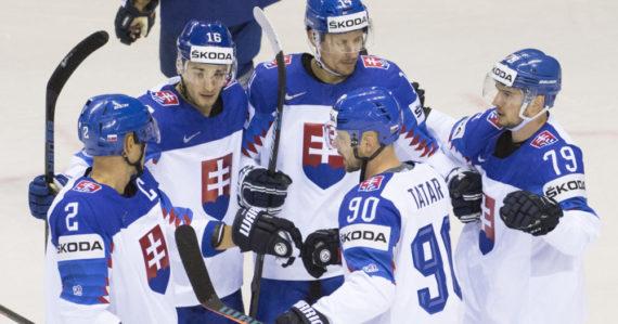 Slovenská radosť po prvom góle
