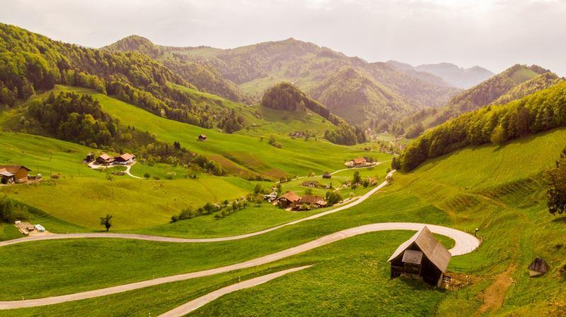 Švajčiarska dedinka