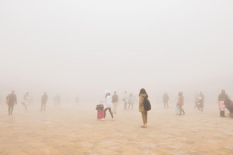Zamorené mesto smogom