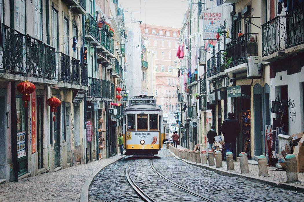Mesto Porto v Portugalsku