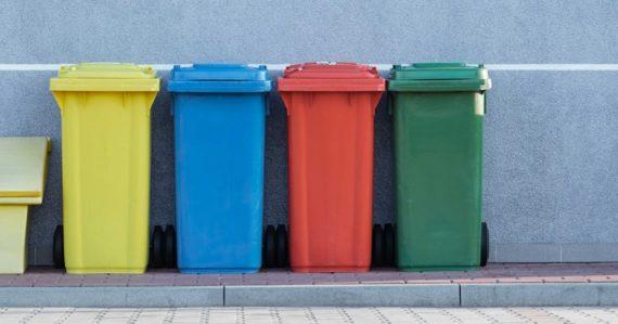 Koše na recyklovanie