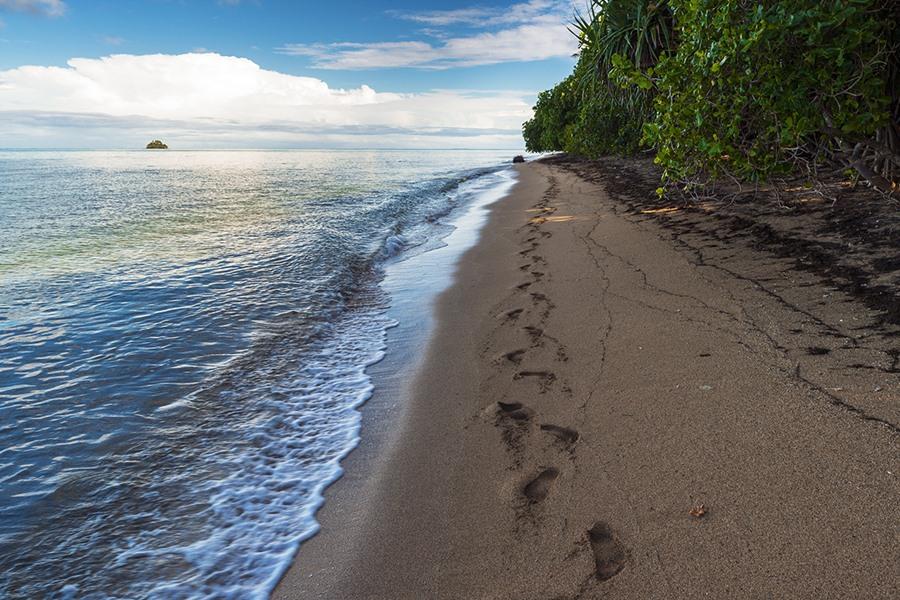 Krásne pláže na ostrove Tonga