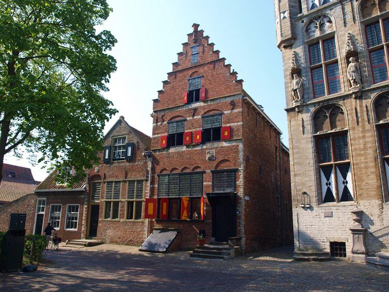 Holandské prímorské mestečko Veere