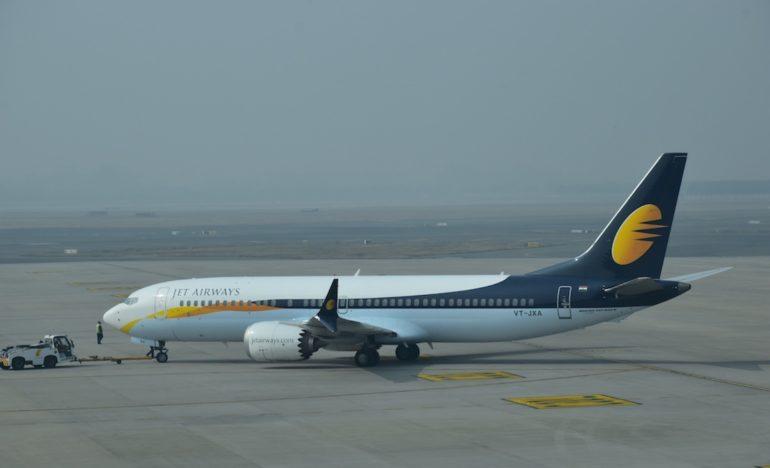 Lietadlo spoločnosti Jet Airways