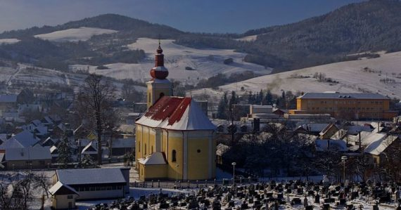 Obec Papradno
