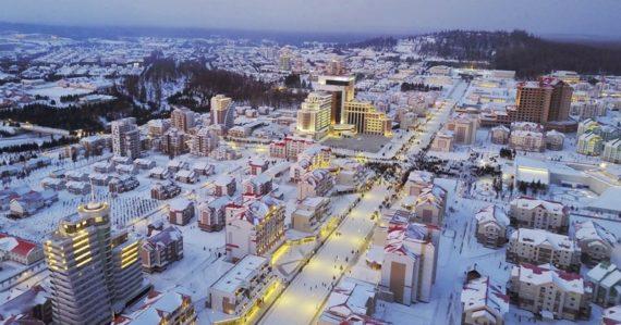 """V Severnej Kórei dokončili nové mesto. Má byť """"stelesnením modernej civilizácie"""", ľudia ho stavali zadarmo"""