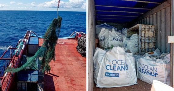The Ocean Cleanup ukončil prvú fázu projektu. Zo zozbieraného plastového odpadu chce vyrábať predmety