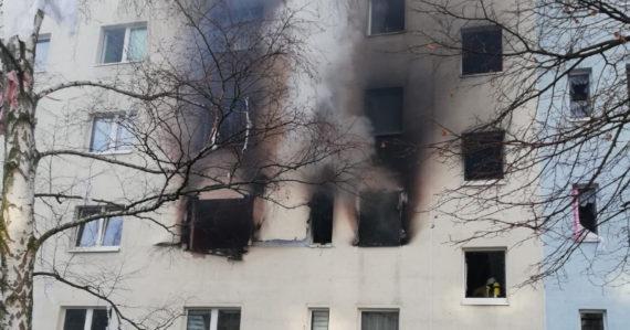 Aktuálne: V nemeckom meste vybuchol panelák. Hlásia desiatky zranených