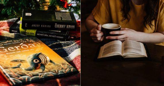 5 najpredávanejších kníh, ktoré môžete darovať svojim blízkym na Vianoce