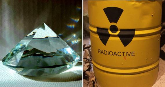 Z jadrového odpadu chcú vyrábať diamantové batérie. Majú vydržať tisíce rokov