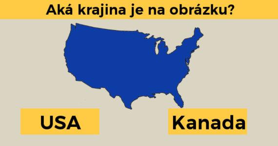 Iba niektorí dokážu identifikovať týchto 10 štátov Ameriky len na základe obrysov ich hraníc