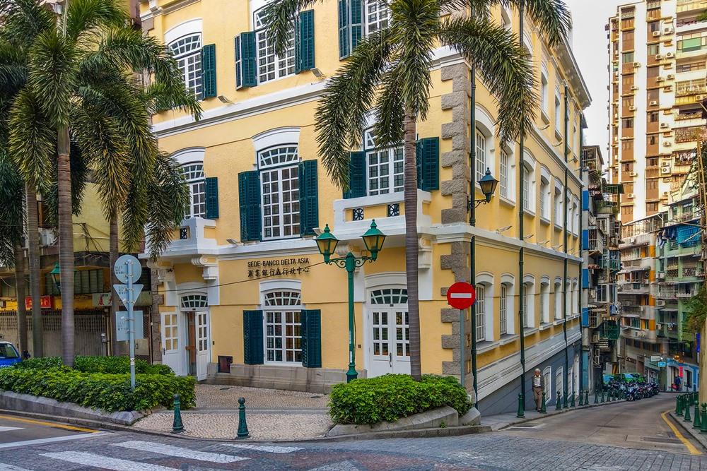 V meste je plno portugalských budov
