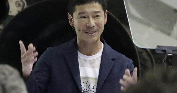 Japonský miliardár hľadá ľudí, ktorí s ním zadarmo poletia do vesmíru. Stačí, ak splnia dve podmienky