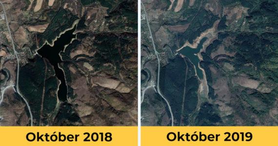 Bulharské mesto môže už tento víkend ostať celkom bez vody. Priehrada je takmer prázdna, ľudia varia z minerálky