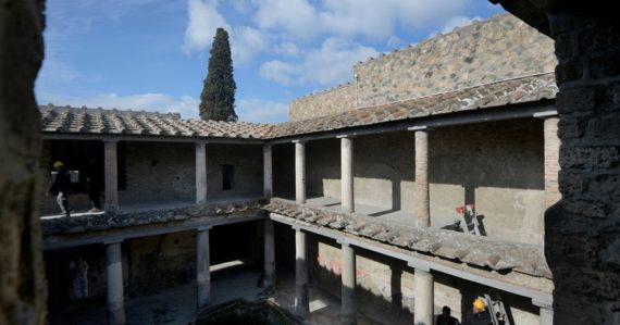 V Pompejách po 40 rokoch sprístupnili Dom milencov. Pre turistov otvorili aj ďalšie priestory