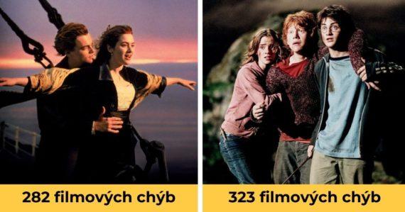 10 známych filmov s najväčším počtom chýb, ktoré si všimne každý divák