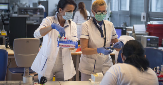 Testovanie koronavírusu v slovenských laboratóriách