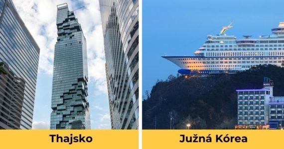 Pripomínajú mimozemšťanov aj vzdávajú hold hrdinom: 8 najnezvyčajnejších budov sveta