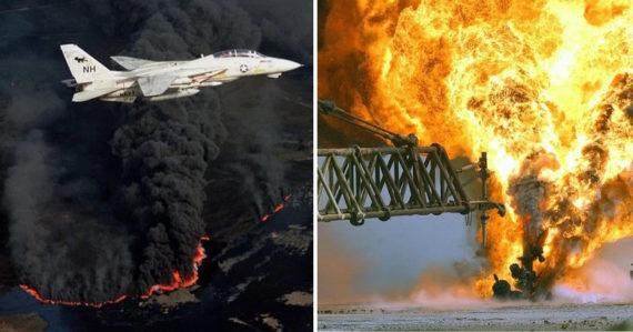 Zapálil ropné vrty, denne zhoreli milióny barelov. Saddám Husajn spôsobil jednu z najväčších ekologických katastrof sveta