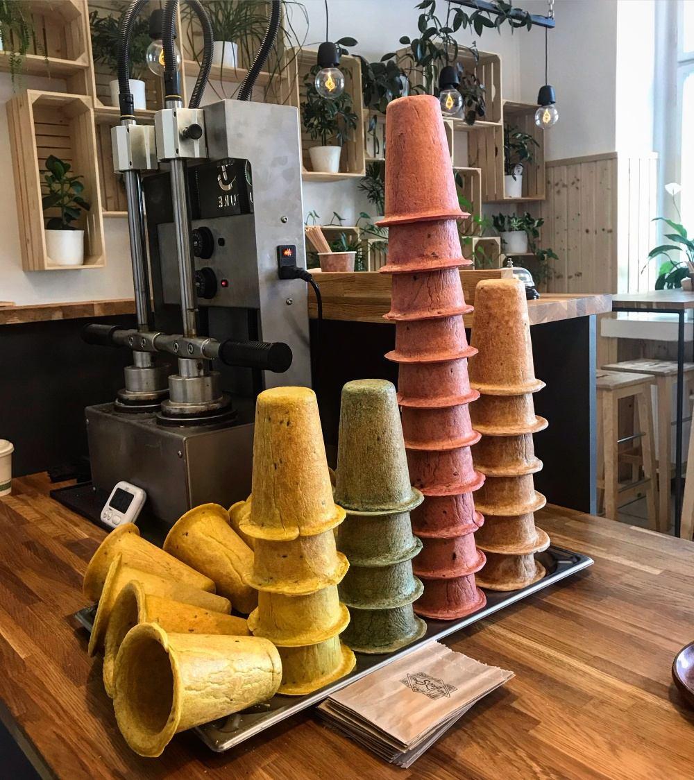 Soupculture- polievky v jedlom kornútku