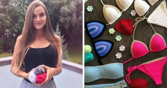 Každý kus je handmade a ekologický originál: Bikini Sorbet bojuje proti fast fashion reťazcom háčkovanými plavkami