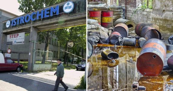 Ekologická katastrofa pod Bratislavou. V areáli Istrochemu dochádzalo k znečisťovaniu chemickým kokteilom