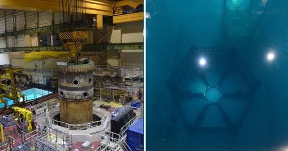 V Jaslovských Bohuniciach prepravili 200-tonovú nádobu reaktora. Takto to vyzeralo