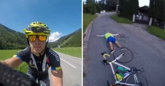 Netradičná cesta domov z práce: Andrej prešiel na bicykli z Rakúska až na východné Slovensko za 25 hodín