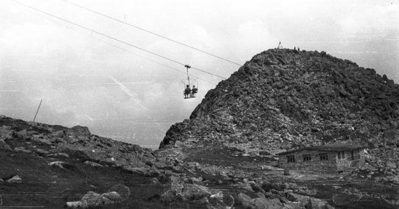 Lanovka v 50. rokoch prepojila Liptov s Horehroním. Takto sa zmenil Chopok za desaťročia na nepoznanie