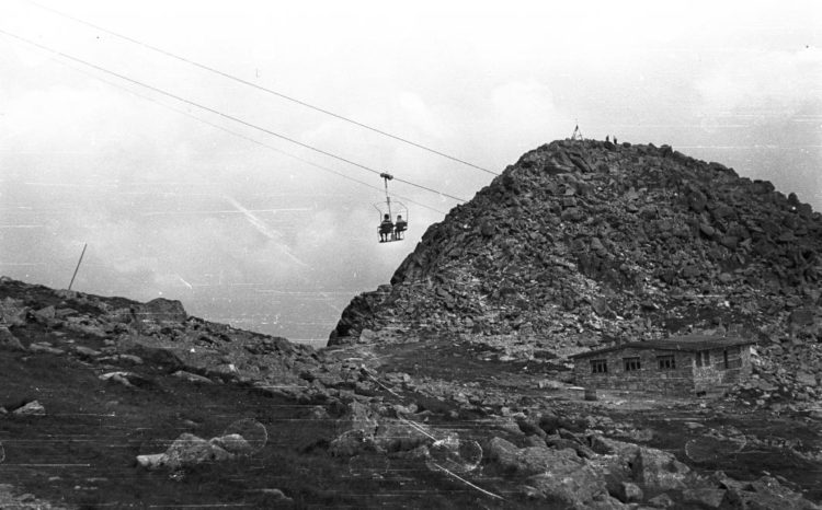 Lanovka na Chopku, 1964