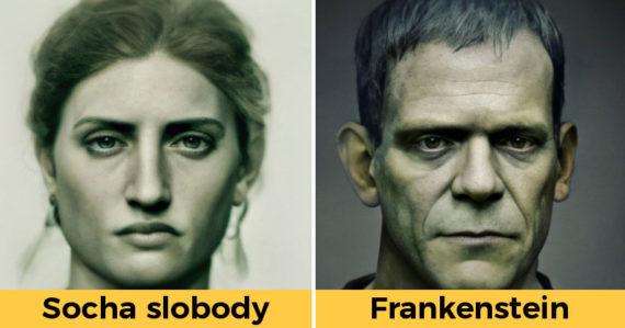 Umelec pretvára historické či fiktívne postavy do skutočnej podoby. Jeho práca je úchvatná
