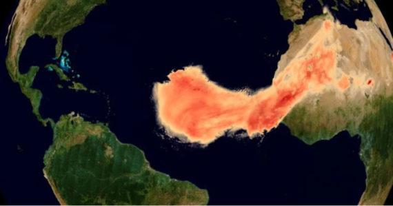 Satelity zachytili Godzillu: Rekordné množstvo prachu zo Sahary prekonalo 8 000 kilometrov