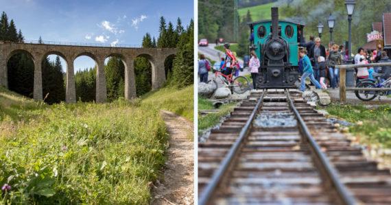 Banícky či Zbojnícky expres. 10 zážitkových vlakov a železničných spojení, vďaka ktorým spoznáte Slovensko