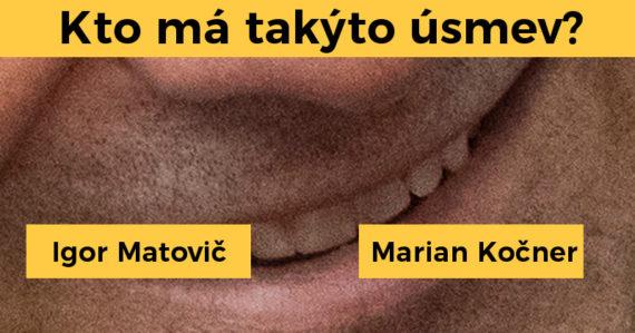 Spoznáte známu slovenskú osobnosť iba podľa úsmevu? Tento kvíz vás môže poriadne potrápiť