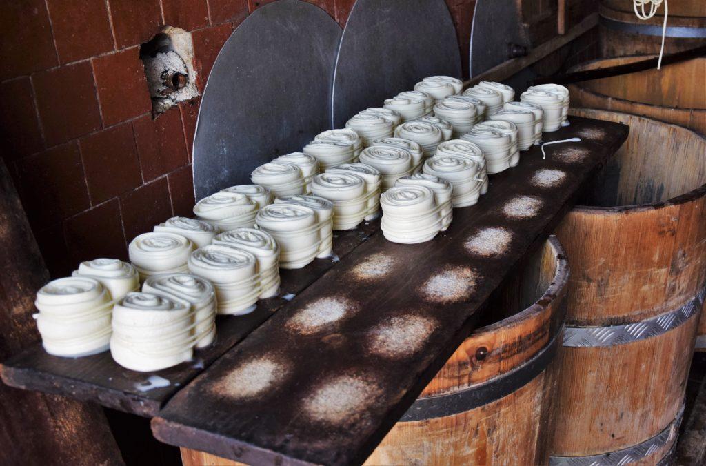 Výroba parenice