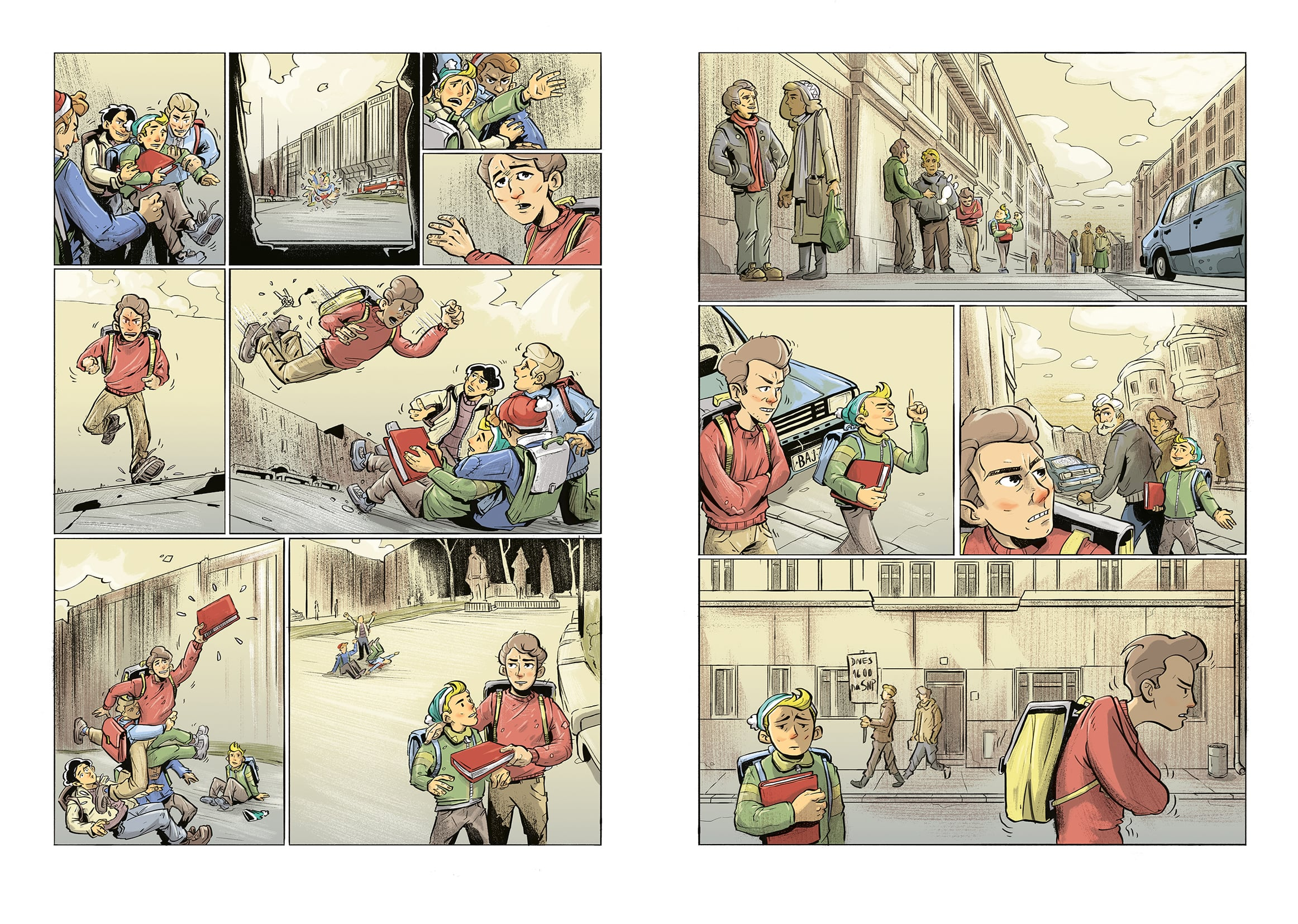 Dávid Marcin - Nežný komiks 3 - PÉ ER DÉ (ukážka), Vydavateľ: EJ Publishing